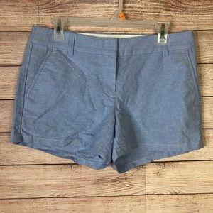 J. Crew Stylish Blue Shorts Sz6